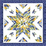 Pattern~Almost Alone Star~2 1/2in Strips Cozy Quilt