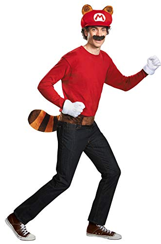 Disguise Super Mario Raccoon Kit Funny Theme Party Halloween Costume Accessory