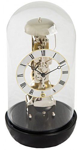 ax Mantel Clock - Black (Hermle Mantel Clock)