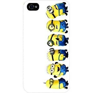 Julian B. Mathis's Shop Cute Minions - Dispicable Me - White Hard Snap on Case Cover for Apple Iphone 5, Iphone 5s Universal: Verizon 6892892M55486264