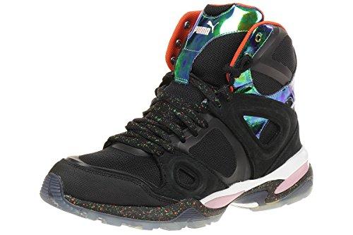 Puma Alexander McQueen Tech Runner Herren Sneakers, Schwarz Black
