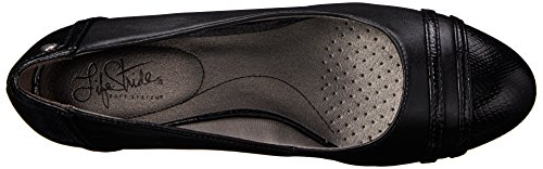 Lifestride Womens Juliana Kil Pump Svart / Svart Orm