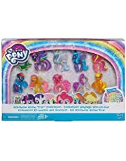 My Little Pony Rainbow Road Trip Collection 10 Pack Sparkling Figures