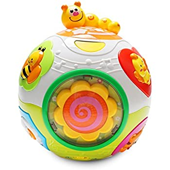 Amazon.com: VTech Move and Crawl Ball, Orange: Toys & Games