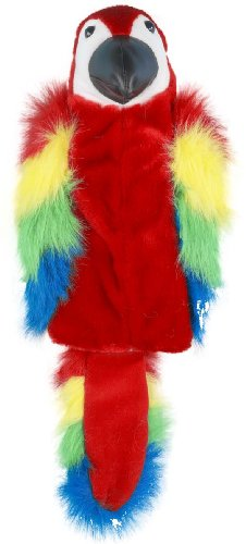 Winning Edge Designs Parrot Polly Head Cover, Red