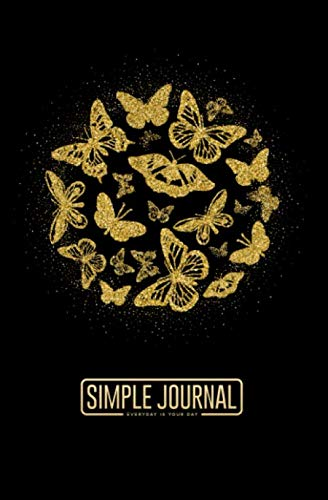 Simple journal - Everyday is your day: Blue cat notebook, Daily Journal, Composition Book Journal, Sketch Book, College Ruled Paper, 5.25 x 8 inches (150 sheets). Dot-grid layout with cream ()