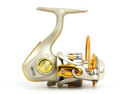 10BB Ball Bearing Left Right Mini Freshwater Fishing Spinning Reel 5.5:1 MN150 (Dual Planer Board)