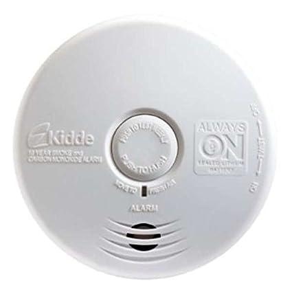 Kidde p3010 K-co funciona con pilas combinación de monóxido de carbono y humo alarma