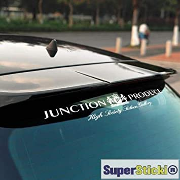 Junction Produce JP Heckscheibenaufkleber ca 30 cm Tuning