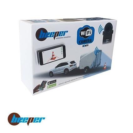 Beeper H2WIFI C/ámara de Marcha atr/ás-Inal/ámbrica-transmisi/ón en applicaci/ón m/óvil-Aplicaci/ón Android e IOS-H2WIFI-BEEPER M