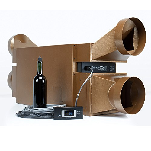 WhisperKOOL Extreme 5000ti Wine Cellar Cooling Unit (up to 1,000 cu ft) by WhisperKOOL