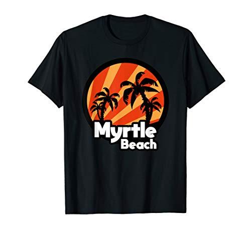 Myrtle Beach SC Palm tree Souvenir gift for Beachlovers (To Myrtle Sc Orlando Fl Beach)