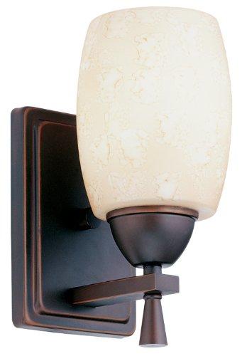 Lithonia Lighting BZA M6 Ferros Indoor Sconce Light, Bronze