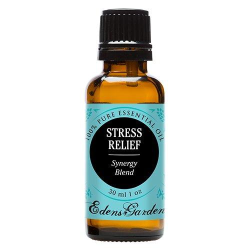 Edens Garden Stress Relief 30 ml 100% Pure Therapeutic Grade GC/MS Tested (Sweet Orange, Bergamot, Patchouli, Grapefruit, Ylang Ylang)