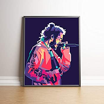 Post Malone Limited Edition Poster Wall Art Wall Merchandise (Additional Sizes) (11x14)