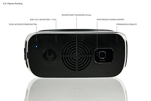 Samsung Gear VR Cooling Fan (COMPATIBLE W/ WHITE 2015 consumer edition gen. 3 - SM-R322 ONLY) Satori VR Fan w/ built-in rechargeable battery by Asterion Products (Samsung Gear VR NOT included) by Asterion Products (Image #3)