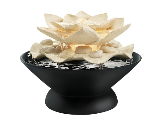 Homedics WFL-MARI Envirascape Mariposa Illuminated Relaxation Fountain with Natural Stones (Homedics Envirascape Illuminated Relaxation Fountain With Natural Stones)