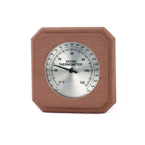 Cedar Barrel Sauna - Cedar Encased Sauna Thermometer C-F (5 1/2