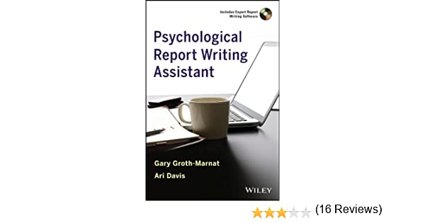 Psychological Report Writing Assistant - Kindle Edition By Gary