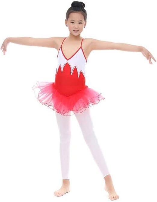 Los niños bailan trajes de vestir Niñas camisola danza vestido de ...
