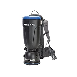 Powr-Flite BP10P Comfort Pro Premium Backpack Vacuum