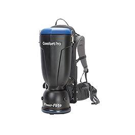Powr-Flite BP10P Comfort Pro Premium Backpack Vacuum, 10 Quart Capacity