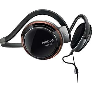 Philips SHS5200/10 - Auriculares de contorno de cuello (3.5 mm), negro