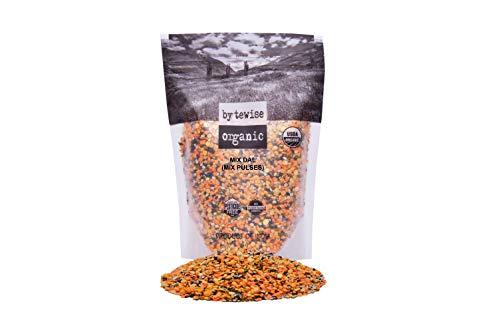 - Bytewise Organic Lentils Blend / Panchmel Dal, 2 Lbs