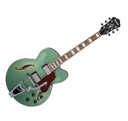 Ibanez Artcore AFS75T Hollowbody – Metallic Green Flat