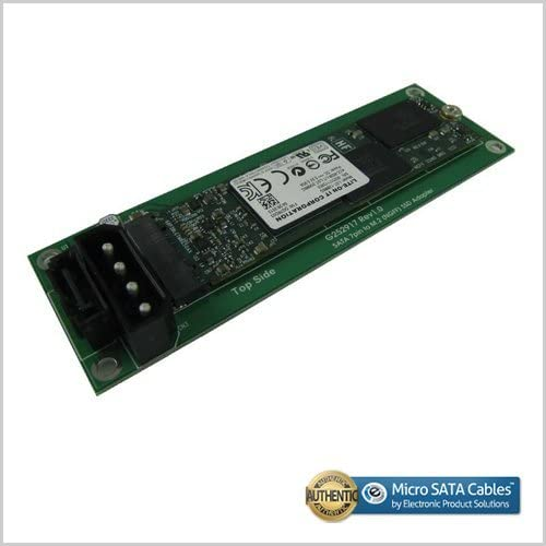 4 Pin Power Connector M.2 NGFF SSD to SATA 7 Pin Adapter