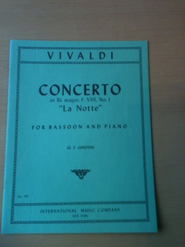 Concerto in Bb Major, F. VIII, No. 1