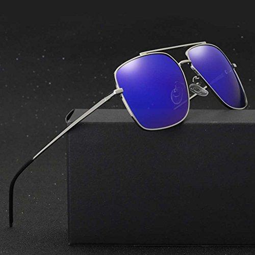 Fulgor los de Lentes Conducción luz 4 de de Gafas Hombre Sunbproof del Coolsir de Las de polarizada UV400 de Gafas Sun Doble de Sol vidrios Providethebest Completo Color qSpAtSO