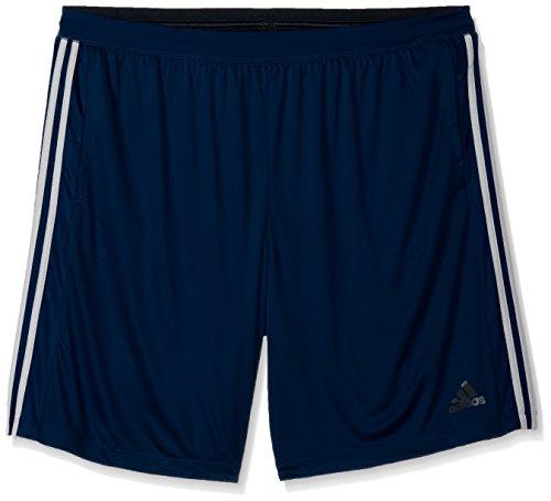 adidas Men's Performance Franchise 3 Stripe Shorts, Collegiate Navy/Collegiate Navy/White, 3X-Large