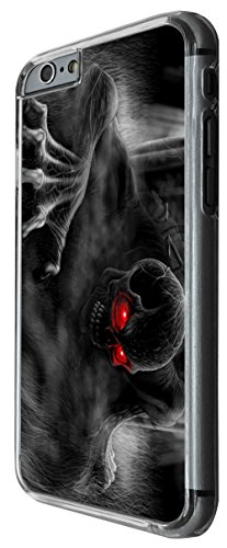 1103 - cool fun scary art zombie skeleton walking dead ghost Design For iphone 4 4S Fashion Trend CASE Back COVER Plastic&Thin Metal -Clear