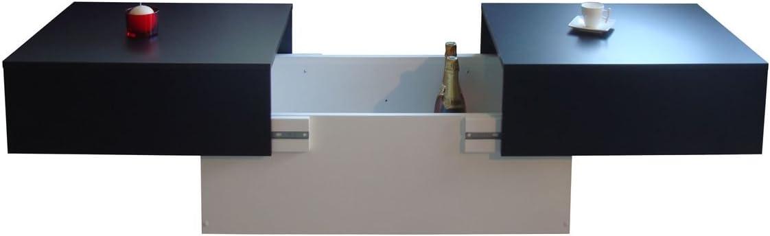 pannelli di particelle Berlioz Creations Altea Tavolino Pruno 89/x 51/x 35/cm