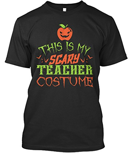 Teespring Teacher Costume Halloween 2016 - Unisex - XXXX-Large - Black - 100% combed ringspun cotton - (1912 Halloween Costumes)