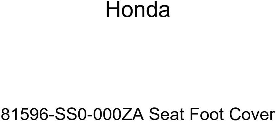 Honda Genuine 81596-SS0-000ZC Seat Foot Cover