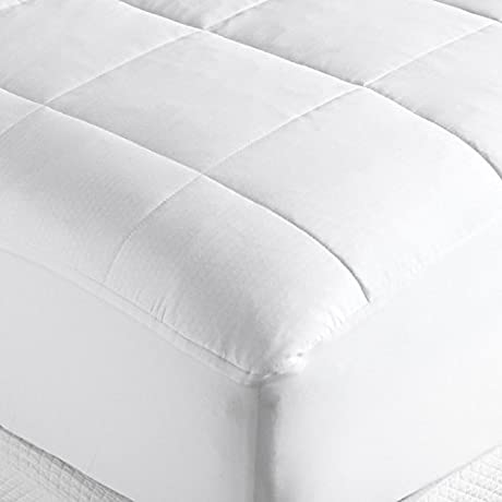 Outlast Temperature Regulating Mattress Pad White Full By Design Weave