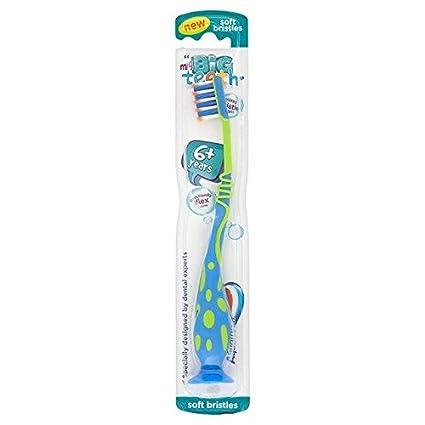 De los dientes suave de Aquafresh mis grandes para limpieza de botes y + - de