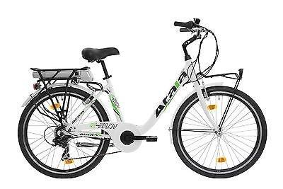 Bici Bicicletta Elettrica Atala E Run Donna 26 Pedalata Assistita