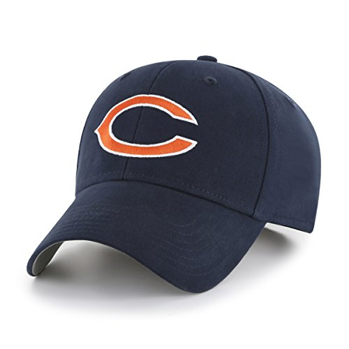 NFL Chicago Bears Kid's Cinch OTS All-Star Adjustable Hat, Navy, - Accessories Kids Chicago Bears