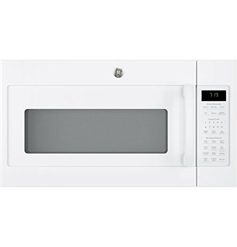 GE JVM7195DKWW 30″ Over-the-Range Microwave Oven in White