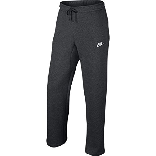 Nike Mens Open Hem Fleece Pocket Sweatpants