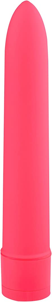 Pure Love 7 Inch Vibrator, Pink Color, Waterproof with Speed Dial Control, Adult Sex Toy, Classic Sex Toy,