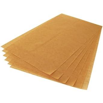 Paquete de 500 hojas de papel de horno Matfer DN928 ECOPAP: Amazon ...
