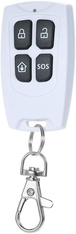 433 MHz Sensor de Puerta inal/ámbrico Puerta magn/ética Alarma de la Ventana Automatizaci/ón dom/éstica Alarma antirrobo Compatible con RF 433 MHz Entrada de Host para el Sistema de Alarma de Seguridad