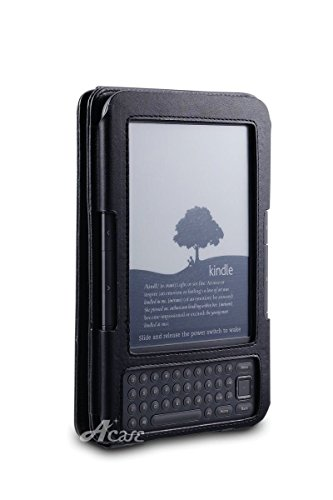 Acase Genuine Leather Flip Case for Classic Kindle with Multiple Position Stand
