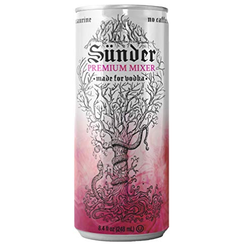 Sunder Premium Mixer - Berry, 8.4 Oz, 24 Pack