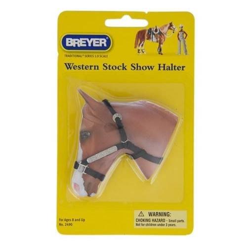 Breyer Leather Halter (Western Stock Show Halter w/ Lead)