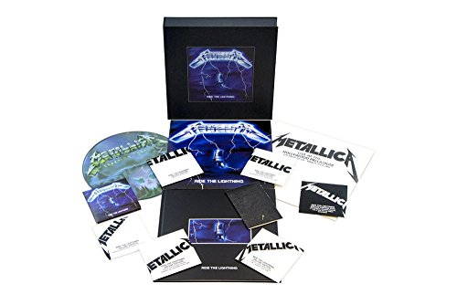 Ride The Lightning (Deluxe Boxset) (4LP/6CD/1DVD w/book, mini book and poster set) (Set Ride)